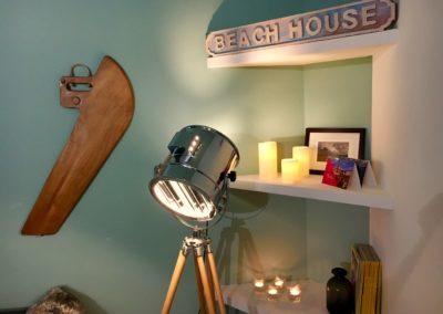 The Beach House - détail salon