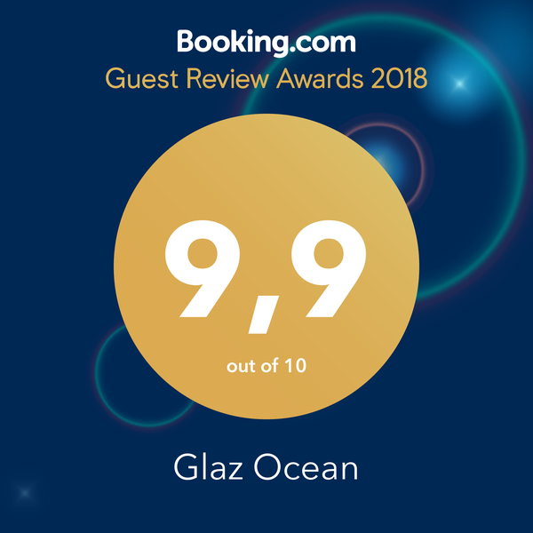 Winner of Booking.com Guest Review Award 2018