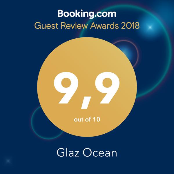 Winner of Booking.com Guest Review Award 2018